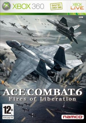 Ace Combat 6: Fires of Liberation (Xbox360) Ace Combat 6: Fires of Liberation (Xbox360) Ace Combat 6  xbox360 300x425