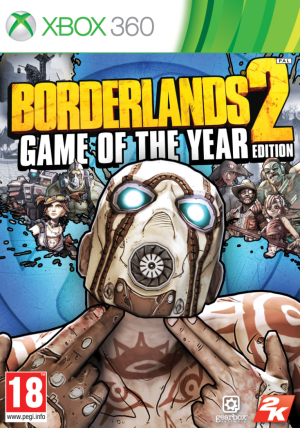 Borderlands 2: Game Of The Year Edition (Xbox 360) Borderlands 2: Game Of The Year Edition (Xbox 360) Borderlands 2 GOTY Xbox 360 300x428