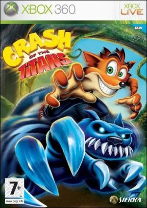 Crash of the Titans (Xbox 360) Crash of the Titans (Xbox 360) Crash of the Titans 300x424
