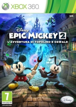 Epic Mickey - The Power of Two (Xbox360) Epic Mickey – The Power of Two (Xbox360) Epic Mickey2 300x423