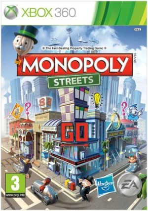 Monopoly Streets (Xbox360) Monopoly Streets (Xbox360) Monopoly 300x427