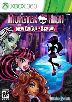 Monster High: New Ghoul in School (Xbox 360) Monster High: New Ghoul in School (Xbox 360) Monster HigH 300x423