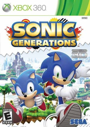 Sonic Generations (Xbox360) Sonic Generations (Xbox360) Sonic Generation 300x422