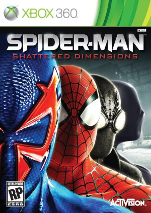 Spider-Man: Shattered Dimensions (Xbox360) Spider-Man: Shattered Dimensions (Xbox360) Spider Man 300x423