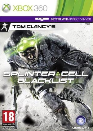 splinter cell: blacklist (xbox360) Splinter Cell: Blacklist (Xbox360) Splinter Cell Blacklist 300x422