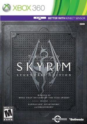 the elder scrolls v - skyrim legendary edition (xbox 360) The Elder Scrolls V – Skyrim Legendary Edition (Xbox 360) The Elder Scroll 300x423