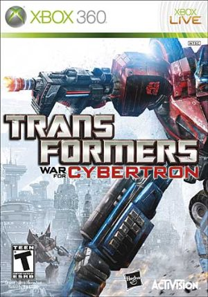 Transformers War for Cybertron (Xbox360) Transformers War for Cybertron (Xbox360) Transformers 300x429