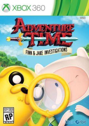 """Adventure Time: """"As Investigações de Finn e Jake (Xbox 360) Adventure Time: """"As Investigações de Finn e Jake (Xbox 360) adventure Time2 300x423"""