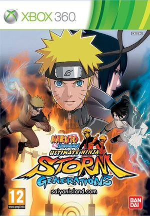 Naruto: Ultimate Ninja Storm Generations (Xbox 360) Naruto: Ultimate Ninja Storm Generations (Xbox 360) Naruto Shippuden 4f769209498b0 300x431