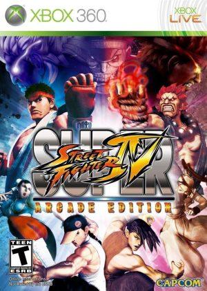 super street fighter iv (xbox360) Super Street Fighter IV (Xbox360) Super Street Fighter IV 300x423