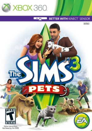 The Sims 3 Pets (Xbox 360) The Sims 3 Pets (Xbox 360) cover xbox360 the sims 3 pets 300x426