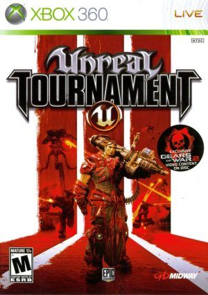 halo: combat evolved anniversary (xbox 360) Unreal Tournament III (Xbox 360) unreal tournament 360 300x426